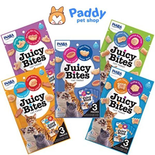 Snack Viên Mềm Juicy Bites Cho Mèo Vị Hải Sản (40g)