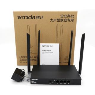Cục phát Wifi, mordem wifi, cục pháp wifi di động, Bộ Phát WIFI Tenda W15e Ac1200mps Mạng Doanh Nghiệp 50 User, sóng wifi qua tường cực tốt, độ phủ lên tới 300m2, bảo hành 1 năm 1 đổi 1 thumbnail