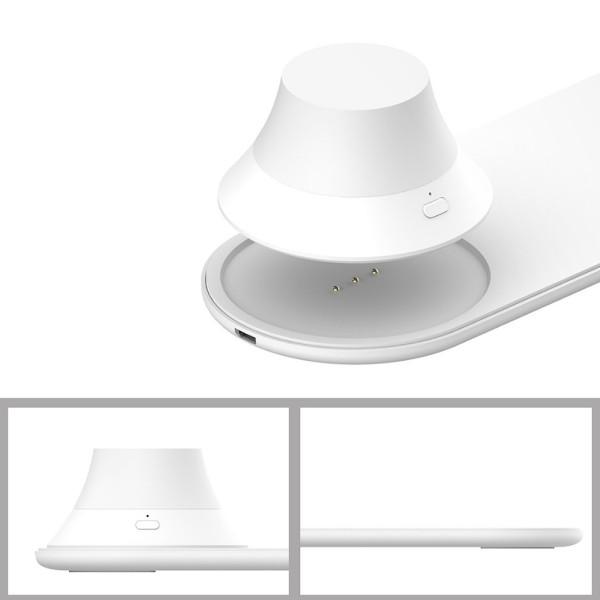 Đèn Ngủ Tích Hợp Sạc Không Dây Yeelight Charging Bedside Light EU 15W - Hàng Chính Hãng Phân Phối  Bởi Digiworld