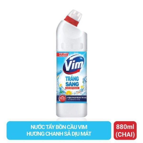 Gel tẩy rửa VIM trắng sáng Hương Xả 880ml