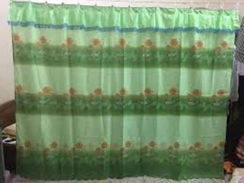 Màn / Rèm / Ri Đô Ngăn Phòng - Vải Thun Lạnh Loại 1 : R = 2m5 và 3m2 , C = 1m6 - Shop Giao Màu Ngẫu Nhiên