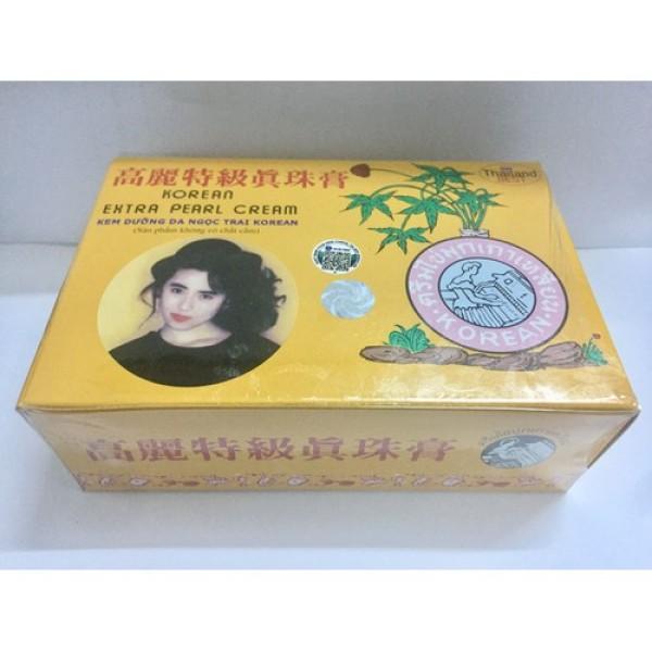 Kem Sâm Vàng Thái Lan Chính Hãng Lố x12 giá rẻ