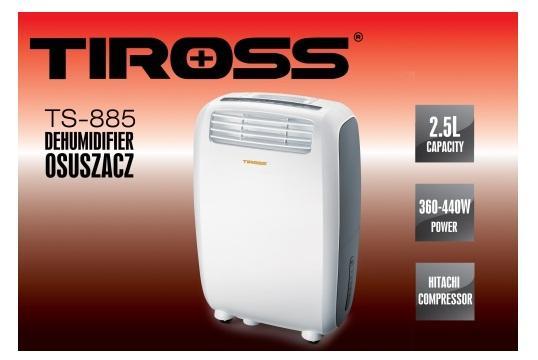 Bảng giá Máy hút ẩm Tiross TS-885(20lít/ngày)