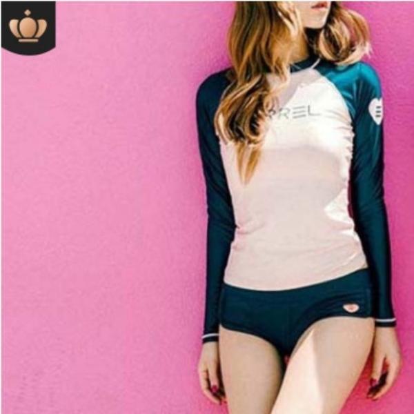 Bikini dài tay chất liệu vải bơi cao cấp