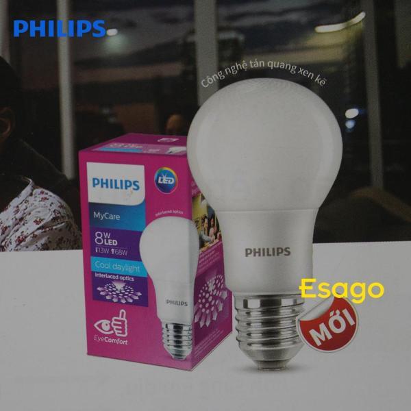 Bóng đèn LED Philips Mycare giảm chói 8W - Ánh sáng trắng