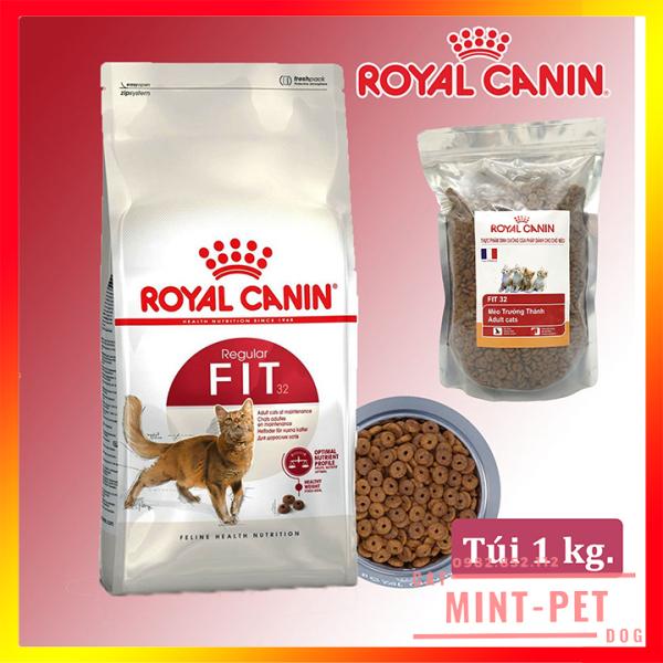 Thức Ăn Hạt Cho Mèo Trưởng Thành Royal Canin Fit 32 Túi 1Kg