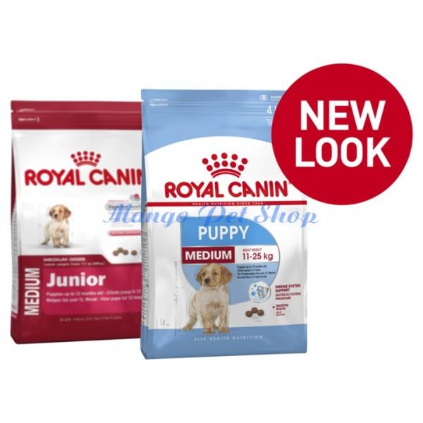 Thức Ăn Cho Chó Con Royal Canin Medium Puppy Túi Chia 1kg