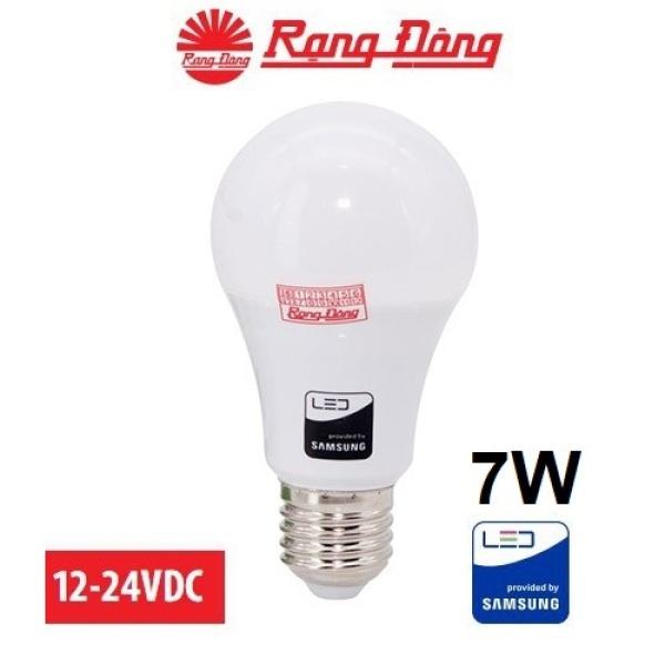 Bảng giá Bóng đèn 12V - 24V LED 7W / 9W / 12W Rạng Đông có kẹp, chipled Samsung