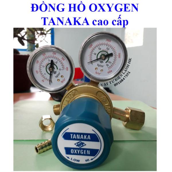 [CAO CẤP] Đồng hồ giảm áp khí oxy TANAKA - DH áp suất Oxygen