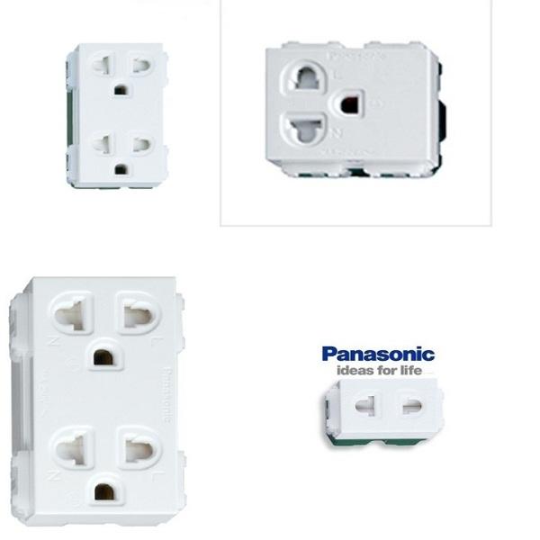 Bảng giá Ổ CẮM ÂM TƯỜNG PANASONIC,Ổ CẮM 3 CHẤU PANASONIC,Ổ CẮM ĐƠN PANASONIC
