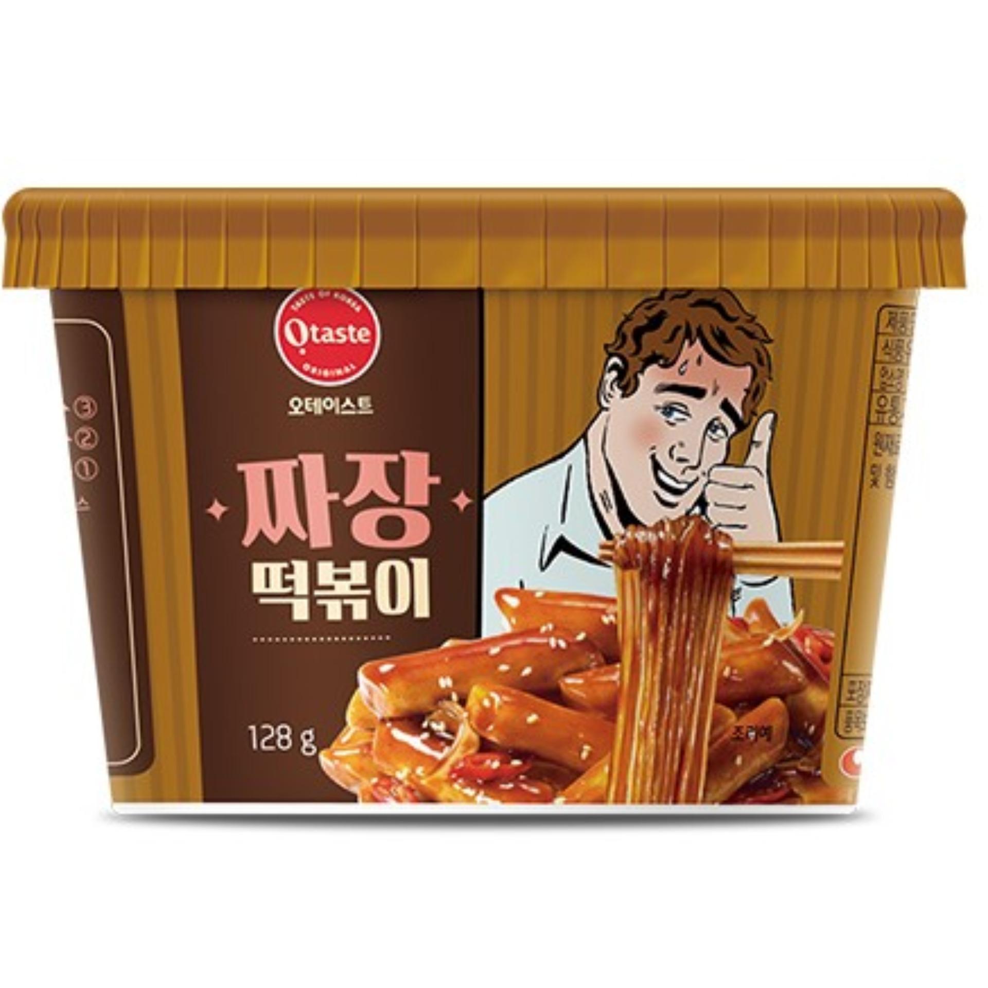 Bánh Gạo Hàn Quốc Topokki & Miến Otaste Jajang Tương đen 128gr Đang Có Ưu Đãi