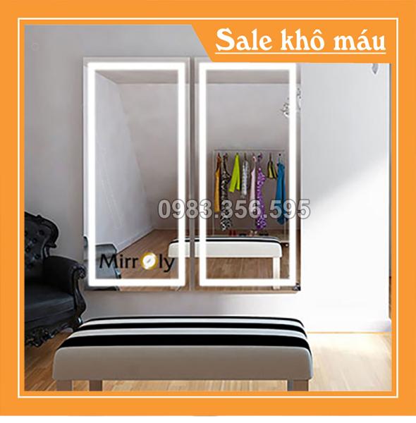 Gương Soi Đèn Led Giá Rẻ Đẹp Cao Cấp Giá Sỉ Rẻ Ở Tại Hà Nội Đà Nẵng TPHCM - 0983356595 giá rẻ