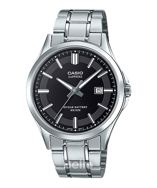 Đồng hồ Casio Nam MTS-100D-1A bảo hành chính hãng 1 năm - Pin trọn đời