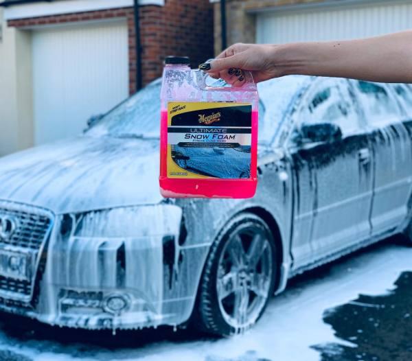 Meguiars Dung dịch rửa xe tạo bọt tuyết cao cấp - MEGUIARS Ultimate Car Snow Foam - G191564EU