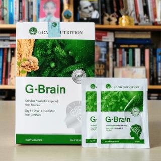 (Chính Hãng) COMBO 3 HỘP G-Brain Hỗ trợ phát triển Trí Não, tăng cường hệ Miễn Dịch cho Trẻ thumbnail