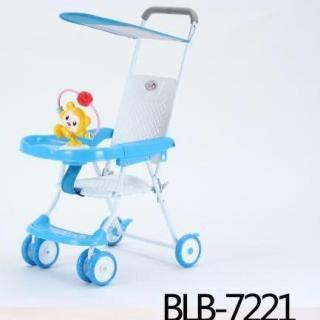 Xe đẩysiêu gọn nhẹ có đồ chơi cho bé BLB 7221 thumbnail