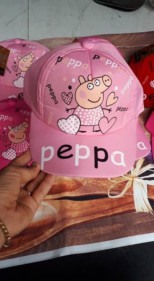 Giá bán Mũ bé gái hoạt hình heo Peppa 1-4 tuổi