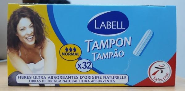 Tampon Labell không cần đẩy 3 giọt - hộp 32 que giá rẻ