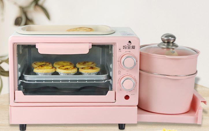 Máy Nướng Bánh Mì Nhiều Tầng Lò Nướng Đa Năng 13000W/ Lò Vi Sóng SALAY 12l, rã đông, nướng bánh, chiên rán, đun nấu