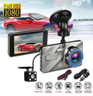 Camera hành trình ô tô trước sau A10 Màn hình 4 Inch IPS, Full HD 1080P, ống kính kép siêu bền - BH 12 Tháng ( 1 đổi 1 ) thumbnail
