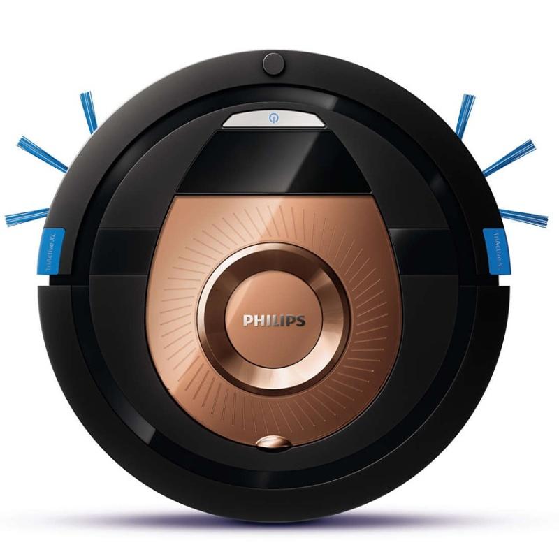 (Hàng Đức) Robot hút bụi Philips FC8776/01 SmartPro Compact, 4 chế độ làm sạch, tự động thông minh