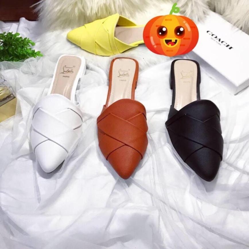 Giày nữ, dép nữ, dép sục da cao cấp PinkShopGiayDep giá rẻ