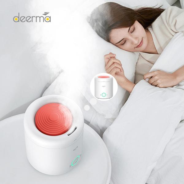 Deerma F301 Máy làm ẩm không khí bằng sóng siêu âm câm máy khuếch tán tinh dầu tạo độ ẩm 2,5l độ ẩm liên tục thông minh cho văn phòng tại nhà