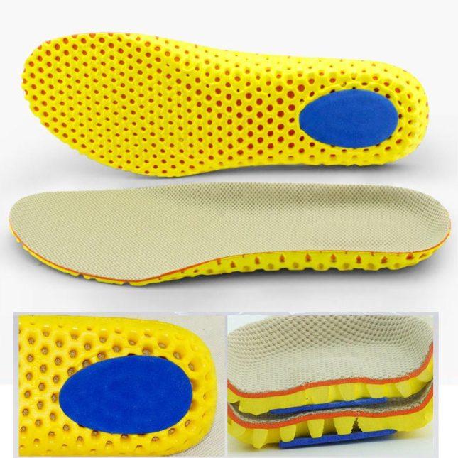 Combo 3 cặp lót giày thể thao, lót giày chạy bộ, tập gym êm chân, thoáng khí và chống thốn gót PETTINO-LLTX05 giá rẻ