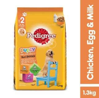 Thức ăn chó con Pedigree vị gà & trứng túi 1.3kg thumbnail