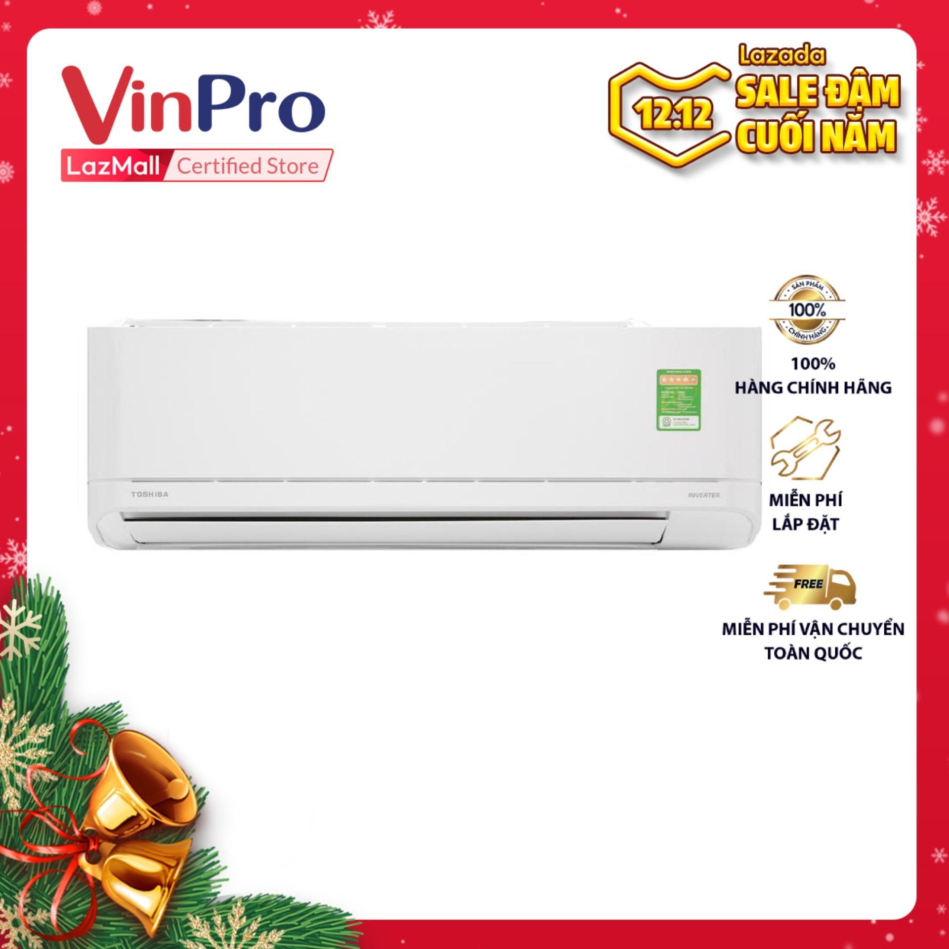 Bảng giá Máy lạnh Inverter Toshiba RAS-H10XKCVG-V,1HP,1C,R32 (Trắng) - Hàng chính hãng