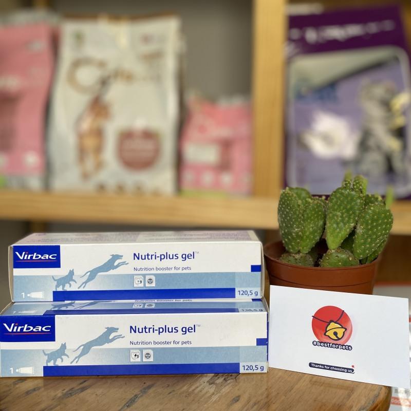 Gel Dinh Dưỡng Cho Chó Mèo Nutri Plus Gel Virbac - 120,5g - Bổ sung Vitamin và khoáng chất