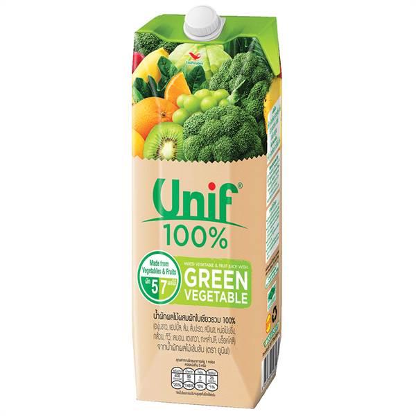 Nước ép Unif rau xanh & trái cây hỗn hợp 1L