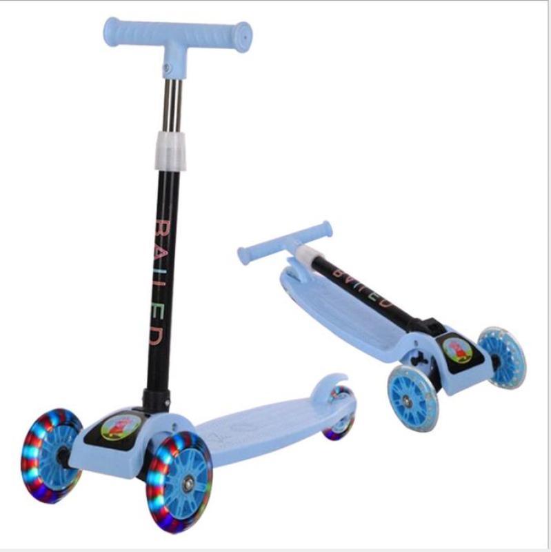 Mua [CHỌN MÀU] Xe Trượt - Mua Xe Scooter Siêu Cool, 3 Bánh Xe Đèn Led Bắt Mắt, Khung Xe Cực Chắc Chắn, Cho Bé Thoải Mái Vận Động - Vui Đùa -Độ Bền Cao -Giảm Giá Sốc Tới 50%