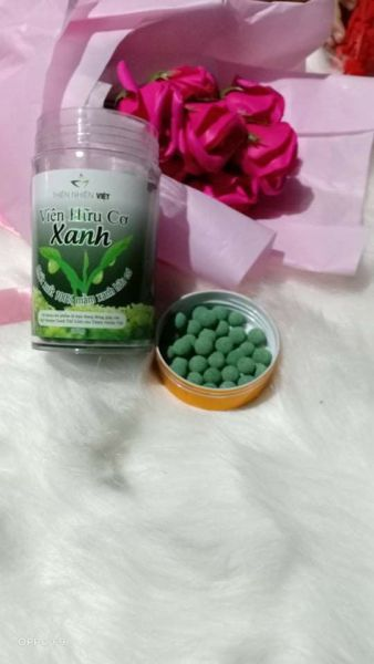Viên mầm hữu cơ xanh Thiên Nhiên Việt