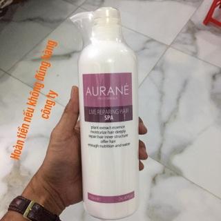 Dầu ngâm ủ tại nhà phục hồi tóc Aurane Live Repairing Hair Spa 750ml thumbnail