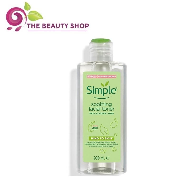 [BẢN MỚI] Nước hoa hồng Simple Soothing Facial Toner 200ml