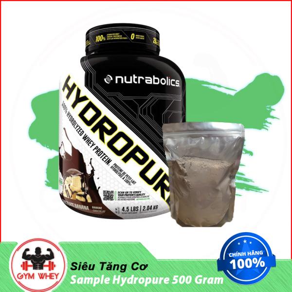 Túi Dùng Thử Sữa Dinh Dưỡng Whey Tăng Cơ Nutrabolics Hydropure 500gram giá rẻ