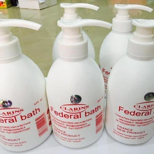 Sữa non kích trắng (loại lớn) FEDERAL BATH - 500ml