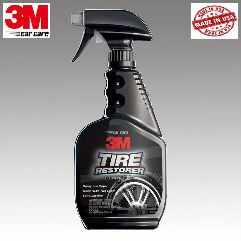 Chai xịt bảo dưỡng lốp ô tô 3M Tire Restorer 473ml 39042