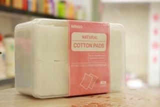 Bông Tẩy Trang Miniso Natural Cotton Pads 1000 miếng thumbnail