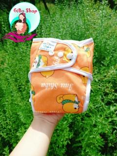 COMBO 2 Bộ Bỉm vải giặt được siêu chống tràn [Gồm 2 VỎ QUẦN + 4 LÓT] size M 3-12kg, L 10-20kg thumbnail