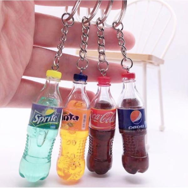 Móc Khóa nước uống Độc Lạ A01