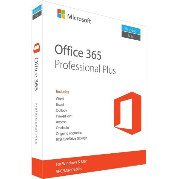 Bảng giá Bộ MS Office 365 trọn đời cài được 5 thiết bị kèm Onedrive 1TB Phong Vũ