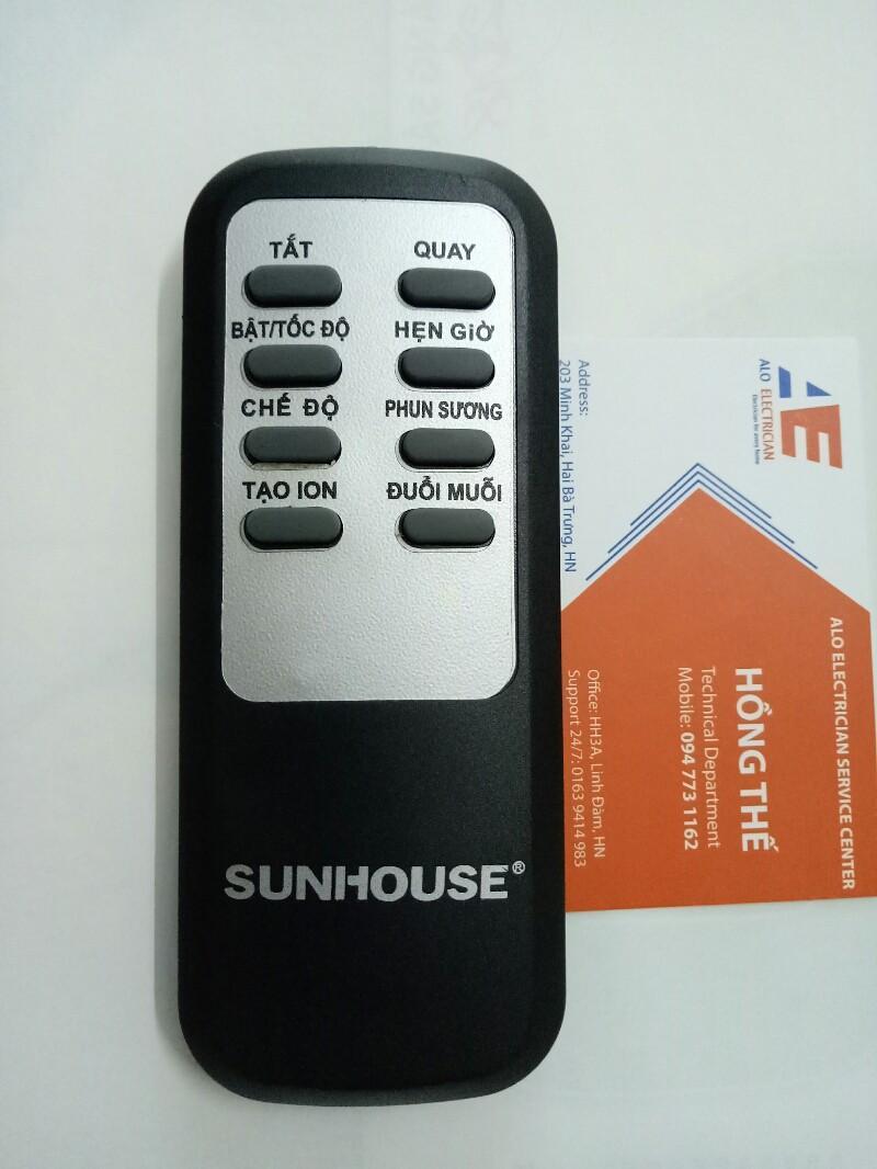 Điều khiển từ xa quạt Sunhouse SHD7822