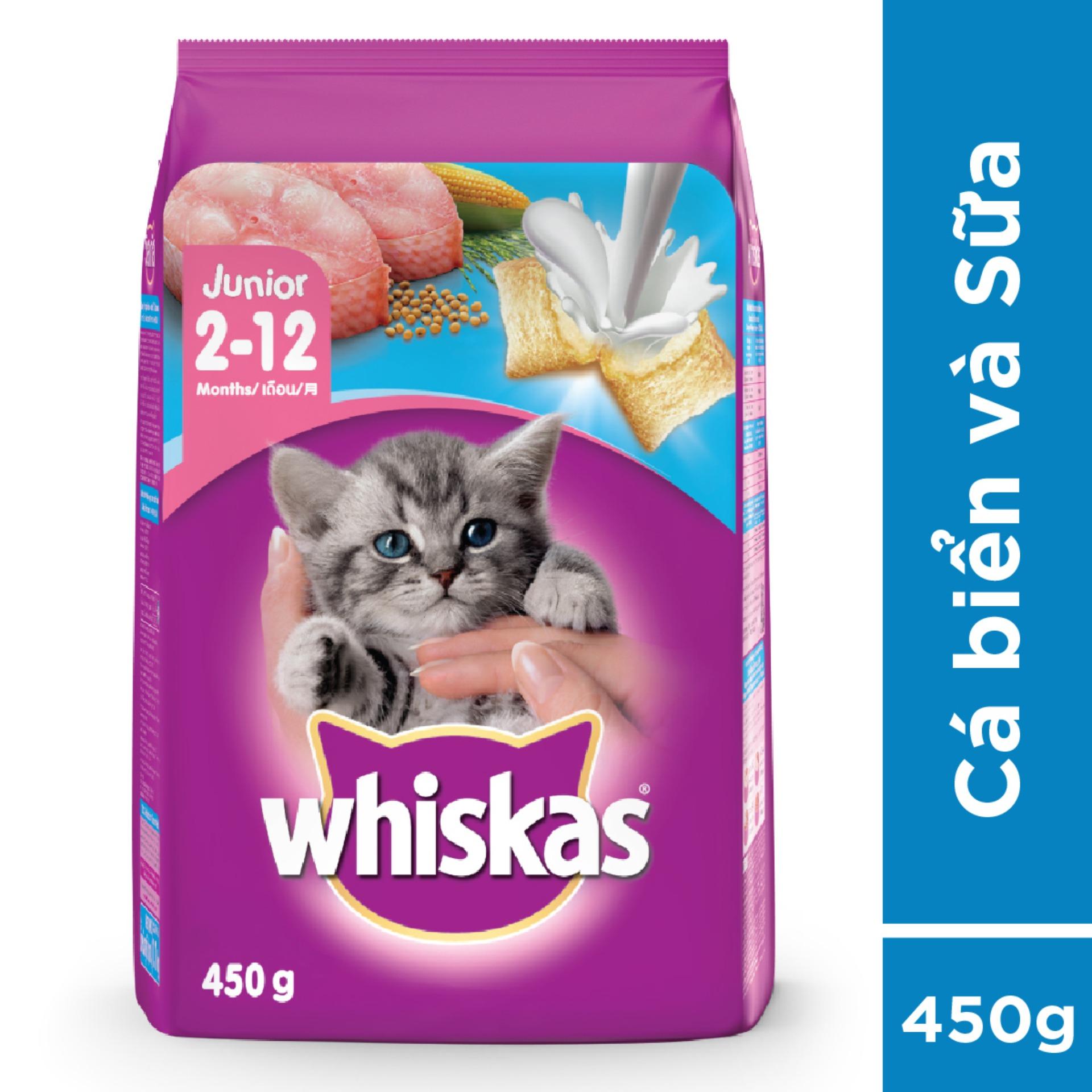 Giá Quá Tốt Để Mua Thức ăn Mèo Con Whiskas 450g