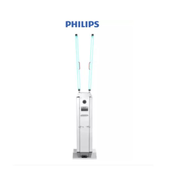 Xe đẩy khử trùng Philips UV-C Trolley (130W UVCT200) 2ARM - 2 tay nâng