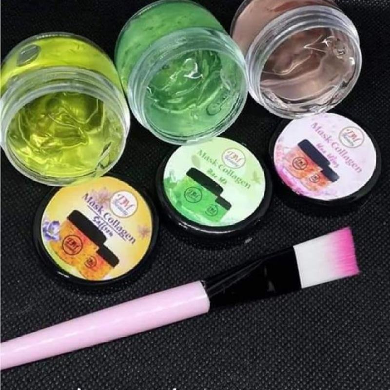 Combo 3 Nạ yến collagen DM tặng kèm cọ - PN01 giá rẻ