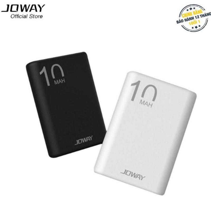 Giá Pin sạc dự phòng 10.000mAh nhỏ số 1 thế giới, siêu nhẹ Joway JP191 - Hãng phân phối chính thức