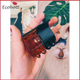 [XẢ KHO]GẤP TÓC, Kẹp tóc 3-5 RĂNG, KẸP CÀNG CUA MÀU ĐEN BÓNG CAO CẤP HÀNG LOẠI 1-Ecobott thumbnail