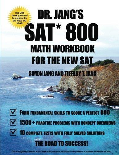 Mua Dr. Jang SAT 800 Math Workbook For The New SAT 1st Edition
